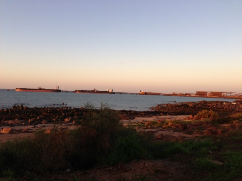 dampier-port-at-dusk