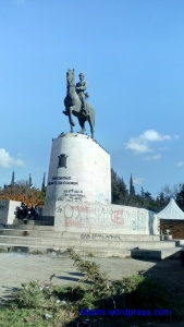 Αγαλμα Κωνσταντινου Α